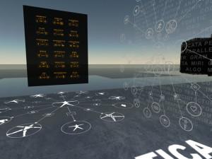 Pictomatic Grammar. Second Life installation. Carraro-2007.