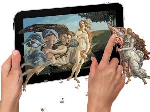 Dipinti interattivi