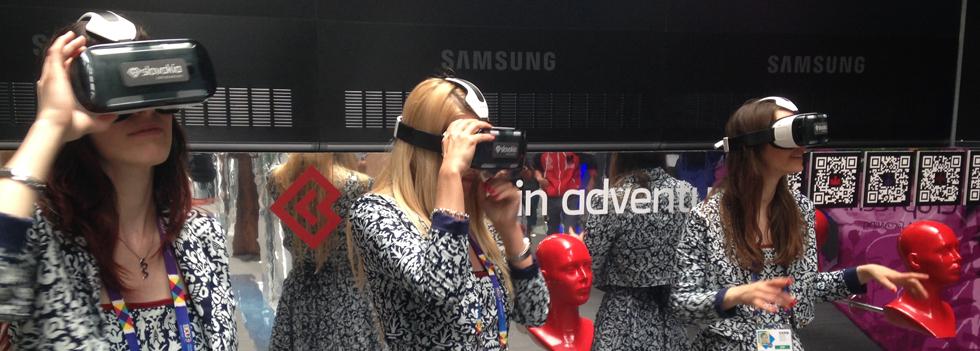 L'applicazione Samsung Gear VR della Slovacchia ij Expo 2015