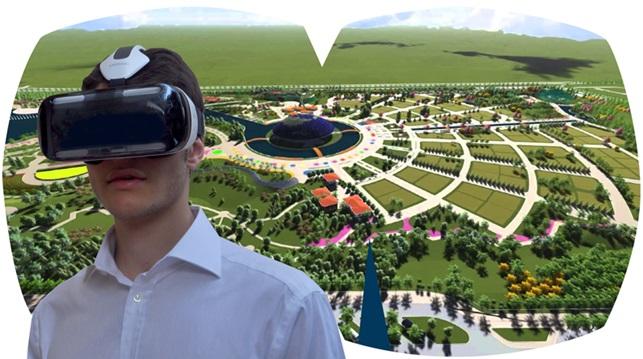 Tour immersivo del modello 3D del sito espositivo di Expo Antalya 2016