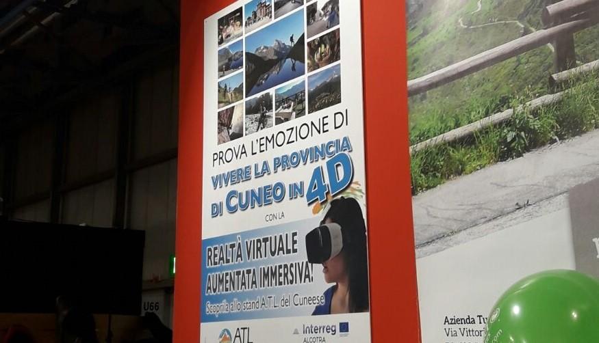 realtà virtuale EICMA 2016, ATL Cuneo