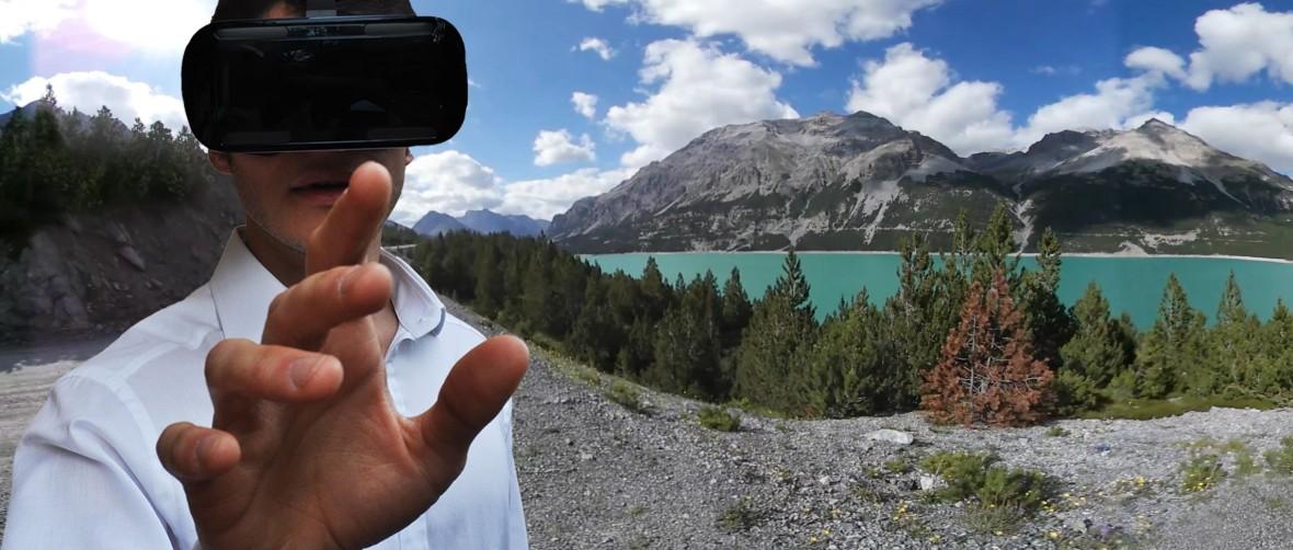 App virtual reality stelvio