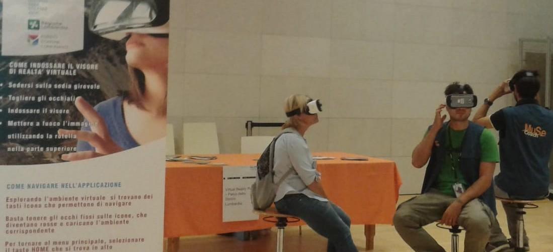 realtà virtuale al MUSE di Trento