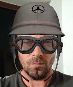 Facebook AR studio Mercedes