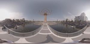 Expo 2015 Albero della vita immagine video 360