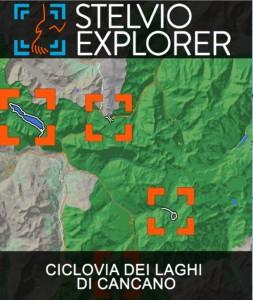 Stelvio Explorer: gioco drag and drop sulla mappa
