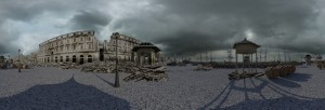 Messina ricostruzione degli effetti del terremoto del 1908