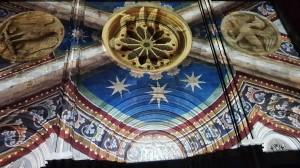 videomapping dettagli  basilica di Vercelli