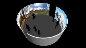 Teatro Immersivo dello Stelvio: modello 3D