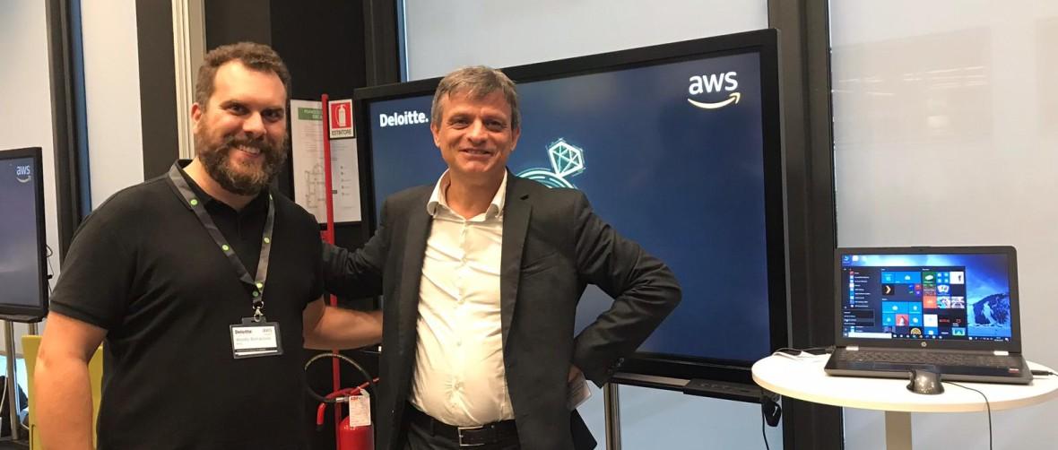 Carraro Lab partner Amazon per AR e VR