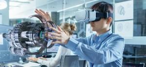 Un laboratorio didattico in realtà virtuale