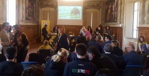Conferenza stampa Coldiretti con progetto in realtà virtuale