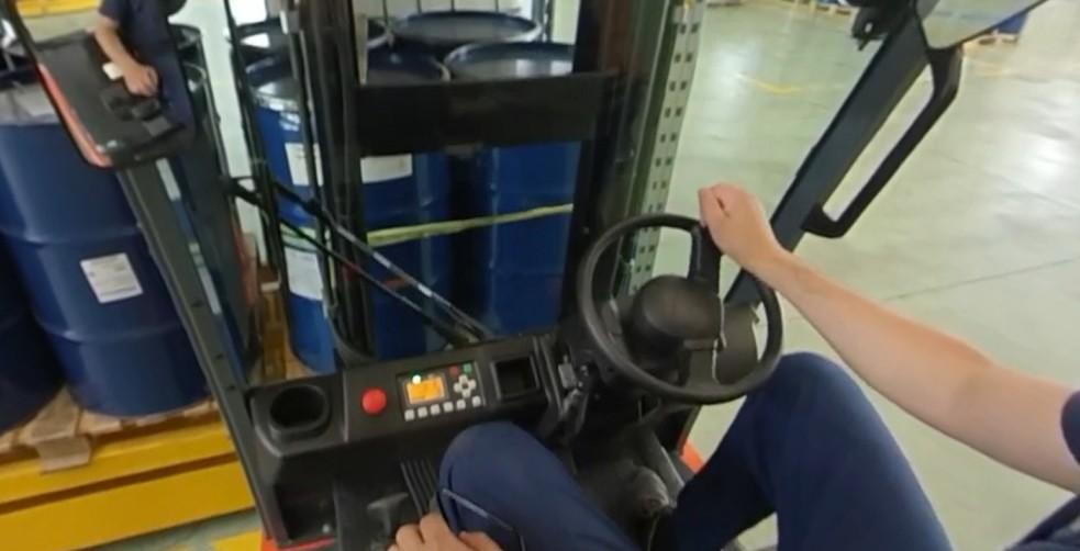 Corso per carrellisti in realtà virtuale
