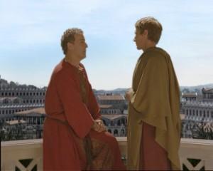 """Ricostruzione storica dei fori imperiali per i film """"Augustus"""" (Carraro Lab per Lux Vide - RAI)"""
