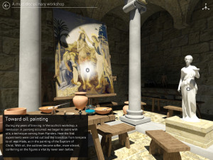 "Biografia immersiva ""Being Leonardo: il laboratorio di Verrocchio"