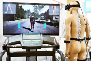 Dispositivo medico per la riabilitazione in realtà virtuale