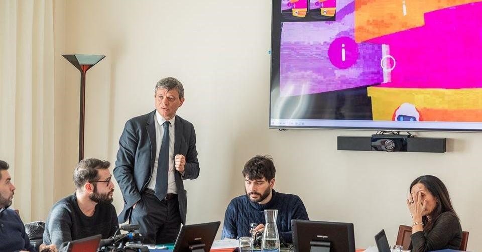 conferenza stampa immersiva del progetto ENEA