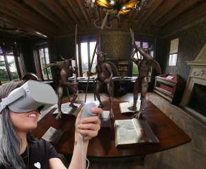 Oculus Point in biblioteca: Dante e l'oltretomba della Divina Commedia in realtà virtuale