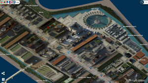 Piattaforma virtuale Expo 2015 - mappa 3D