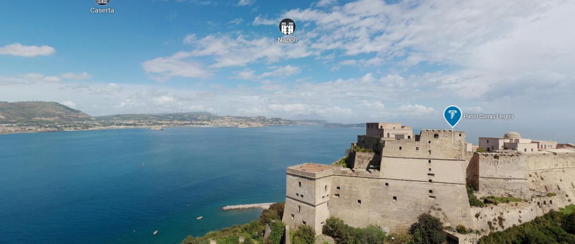 Cultura Campania castello di Bacoli