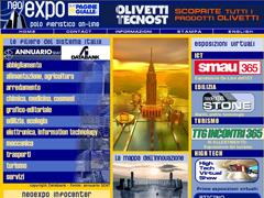Home Page del portale fieristico Neoexpo