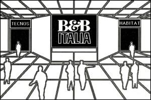 Palazzo della memoria B&B Italia: ingresso allo stand virtuale