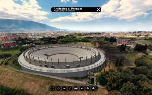 Anfiteatro di Pompei ricostruzione archeologica