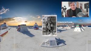 Video conferenza con tour virtuale, realizzata a Brera
